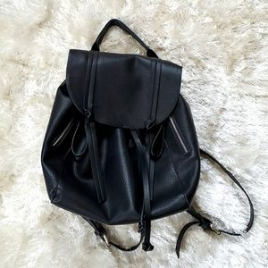 Zara Back to Basics Black Backpack